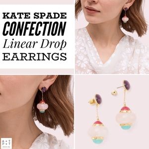 Kate Spade Confections Linear Drop Earrings